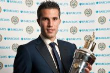 Van Persie named Player of the Year in England